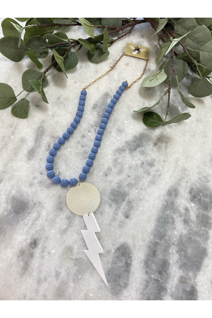All The Blues Necklace