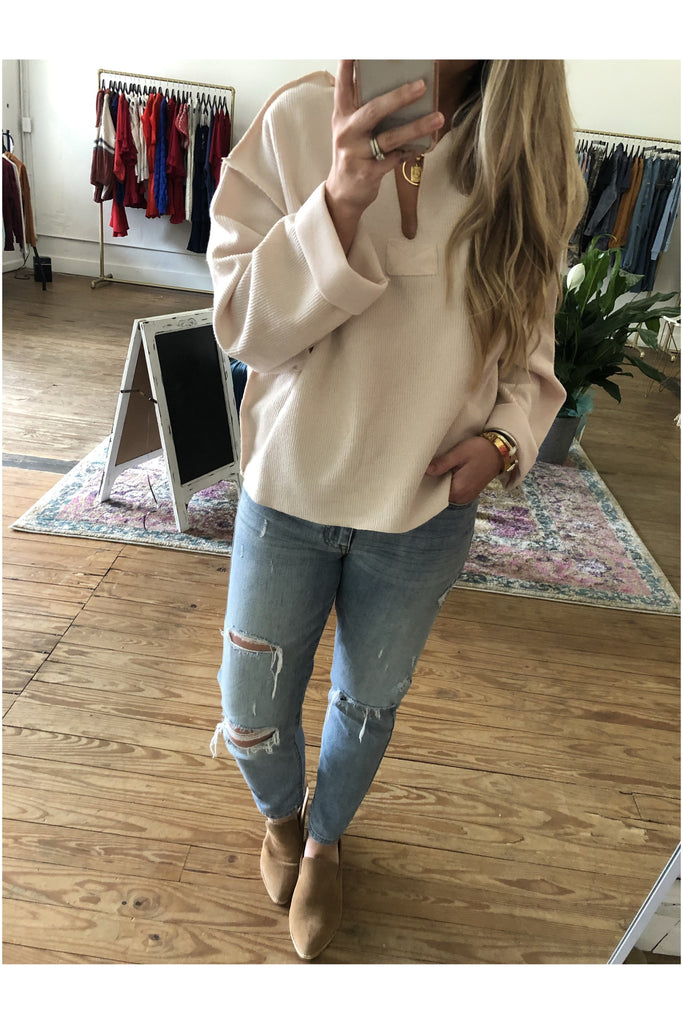 Forever & Ever Sweater Natural