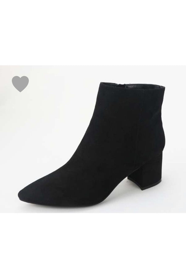 Rapid Black Bootie