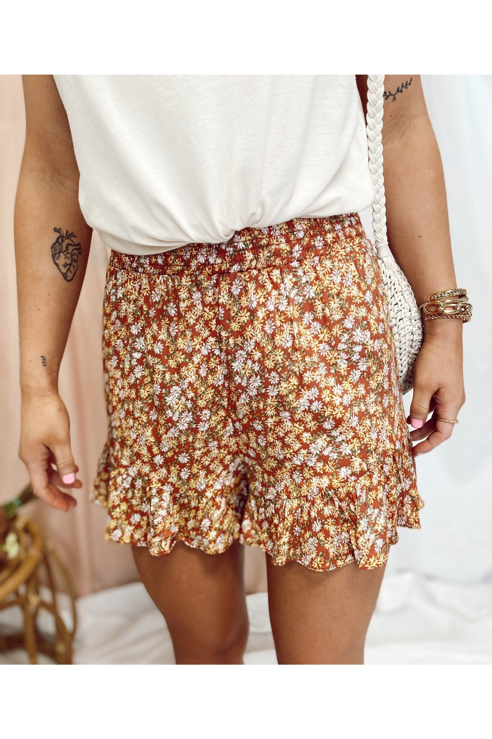 First Choice Shorts Coral