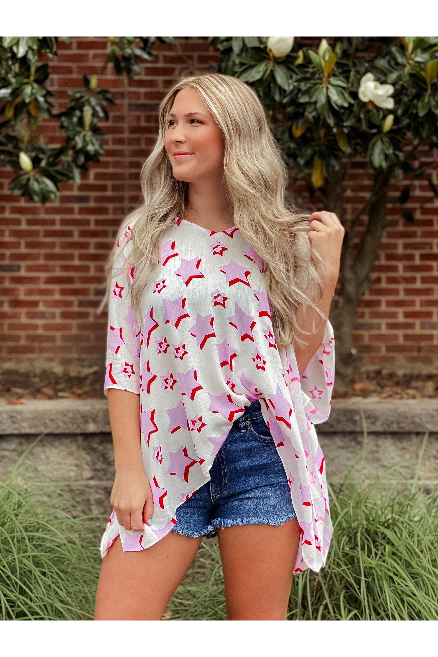 North Pink Sky Tunic By Buddy Love