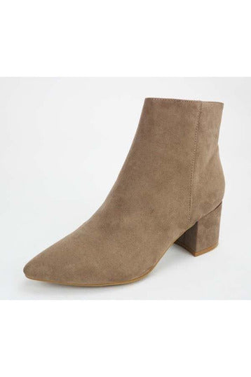 Rapid Taupe Bootie