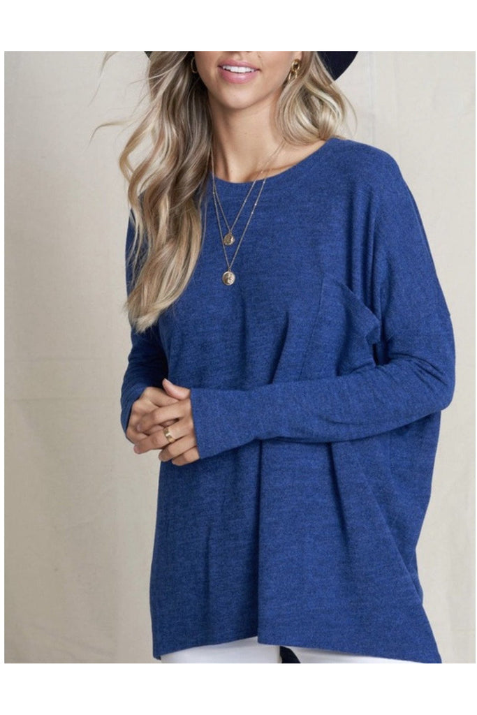 the Kacie Sweater Navy