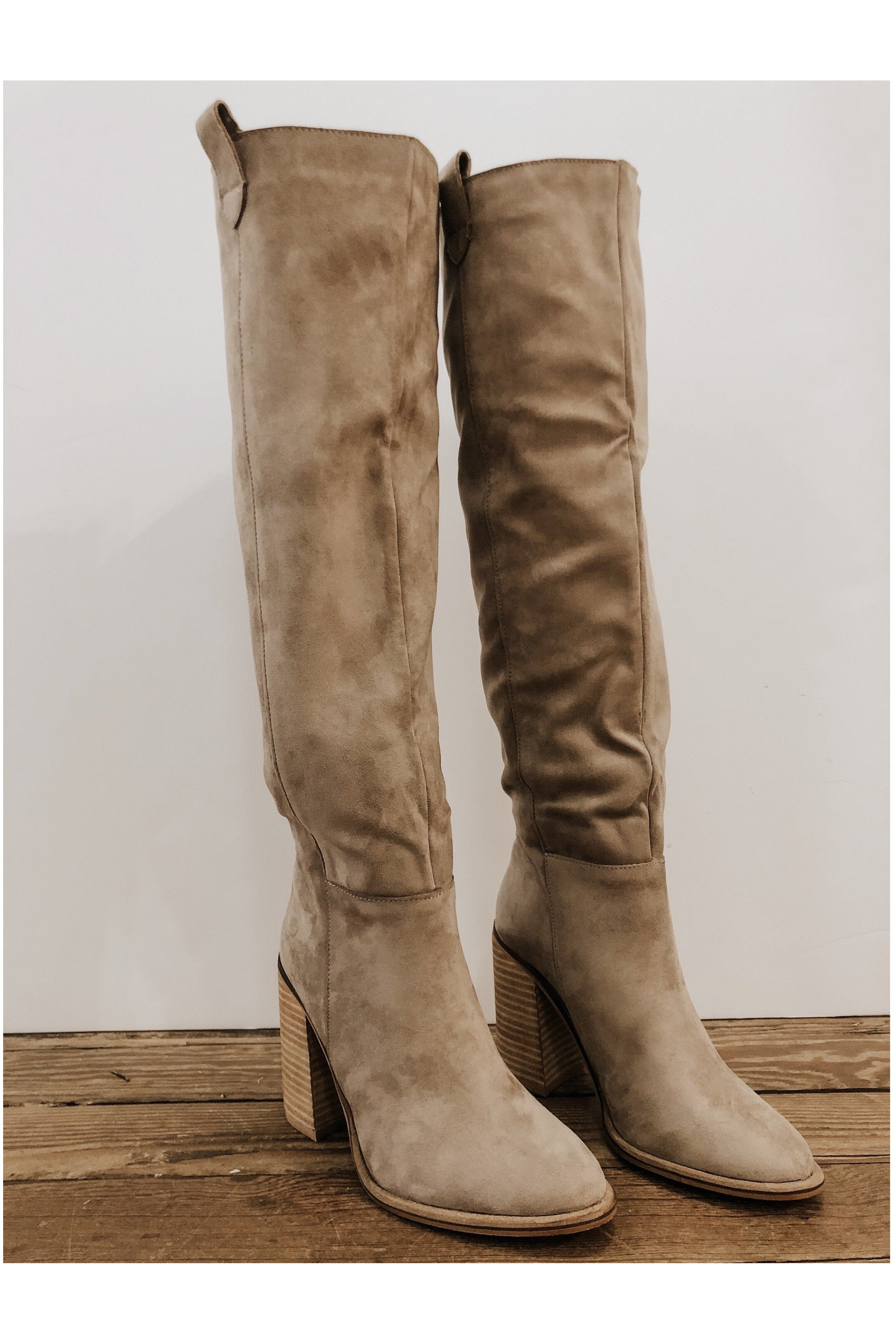 Saint Boots in Taupe