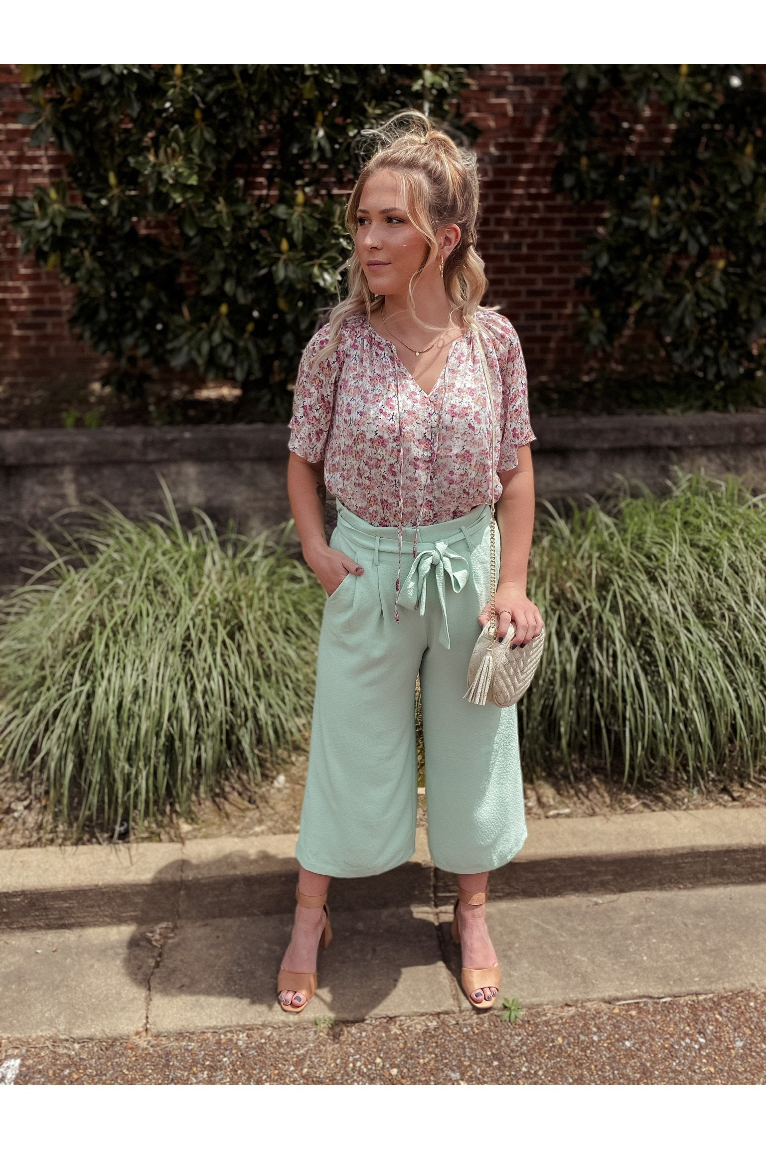 A Dime Trousers in Mint