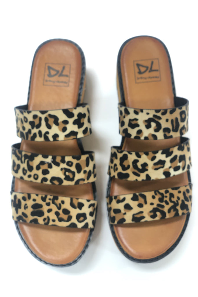 Jolt Disco Leopard Shoes by Dirty Laundry