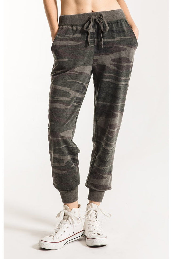 The Camo Jogger Forest Green by Z Supply