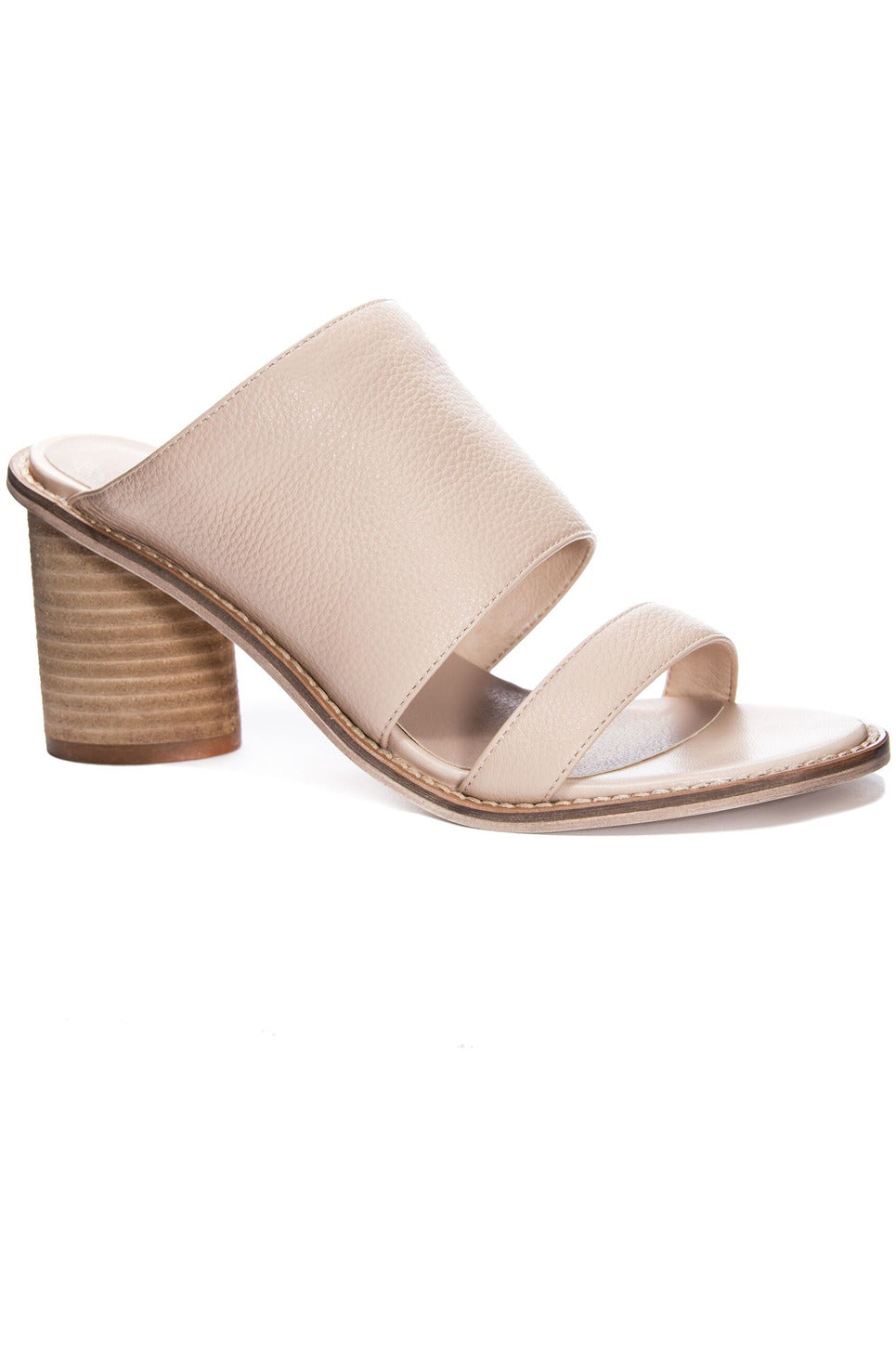 Cosmic Cow Leather Heel by Chinese Laundry