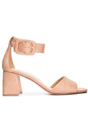 Yova Fine Suede Heel by Chinese Laundry