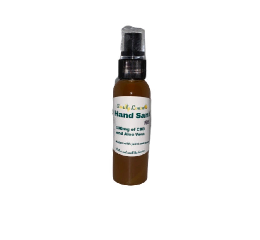 Smelly Lemon CBD Hand Sanitizer