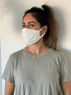 Adult Face Mask (White)