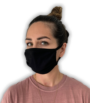 Load image into Gallery viewer, Adult Face Mask (Black)