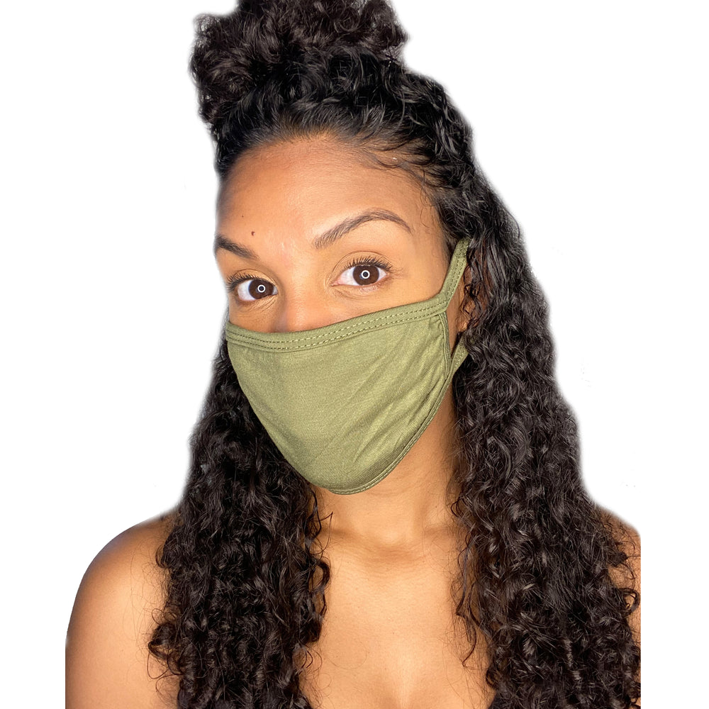 Load image into Gallery viewer, Adult Face Mask (Olive)