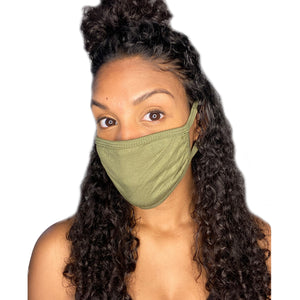 Adult Face Mask (Olive)