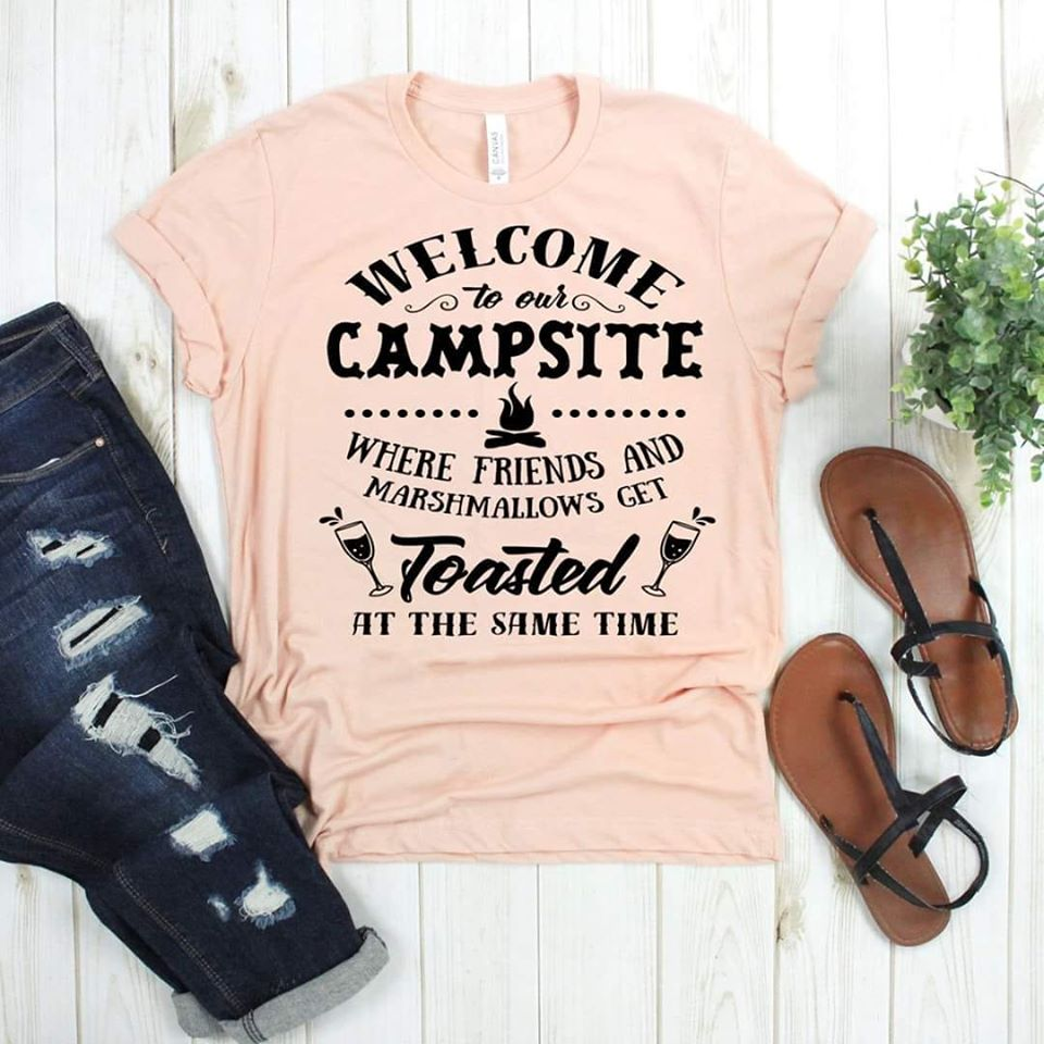 Welcome To Our Campsite | Toasted