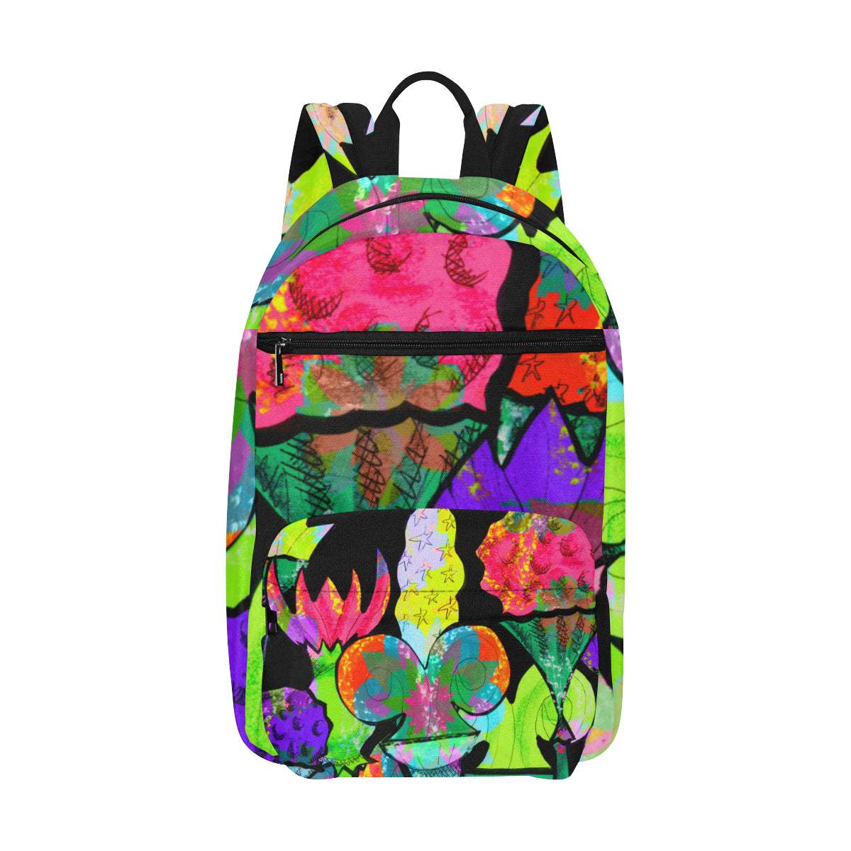 Abstract Celebration Backpack Large Capacity Travel Backpack