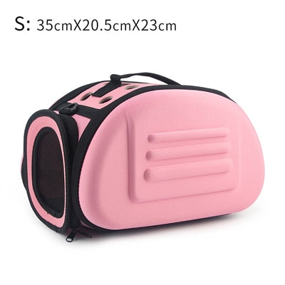 Pet Carrier Bag Portable Outdoor Cat Foldable Dog Travel Pet Bag Puppy Carrying Shoulder Dog Bags