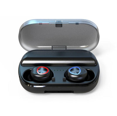 True Wireless Bluetooth Earphone Wireless Headphones Headset 5.0 CVC 8.0 Intelligent Noise Reduction Touch Control Ear Buds Fast Connection/Mini Case with Charging Box