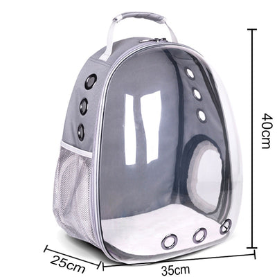 Small Dog Carrier Breathable Portable Pet Carrier Bag Outdoor Travel Backpack