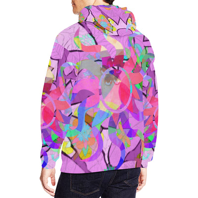 Hoodie Jacket Unisex Custom Design All Over Print Hoodie for Men (USA Size) (Model H13)