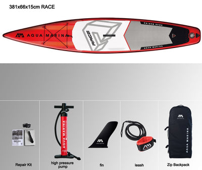 Extra Large Inflatable Race Stand-Up  Paddle Board  381*66*15cm