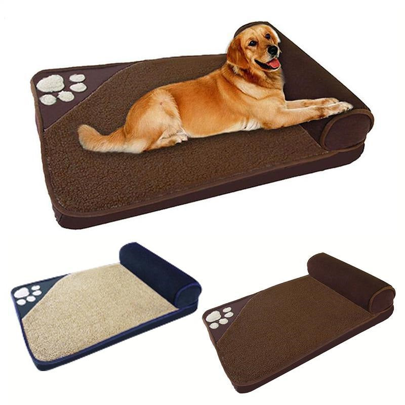 Large Pet Dog Bed Winter Warm Kennel Sleeping Pet House Pillow Bed Removable Pet Nest Supplies