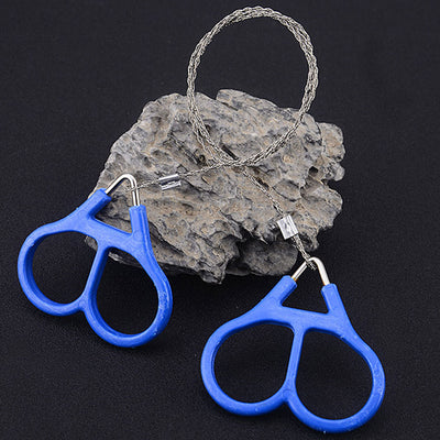 Hot Portable Stainless Steel Hand Pocket Chain Wire Saws Outdoor Survival Cutting Tools Camping Handsaws