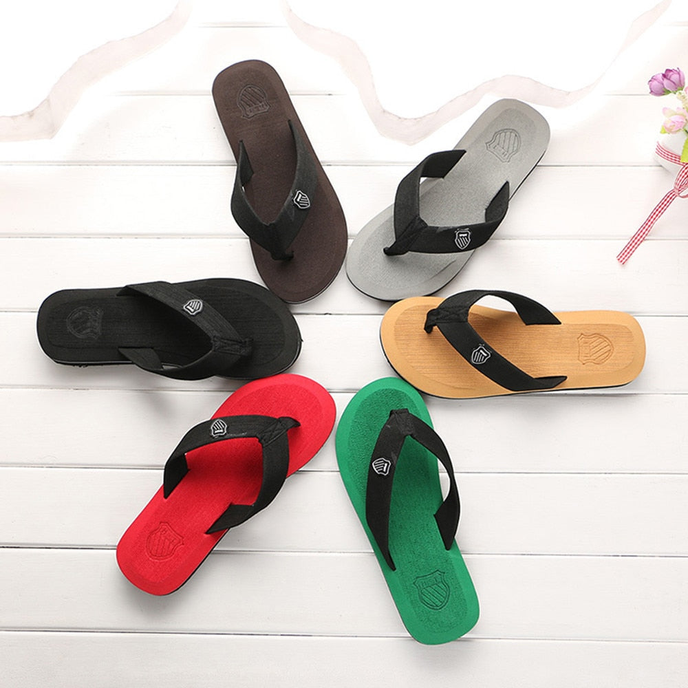 Flip-flops Summer Beach Sandals Indoor Outdoor Casual Shoes Travel Gym