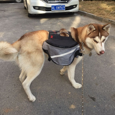 Dog Backpack for your Small to Medium Large Dogs Saddlebag Style Travel