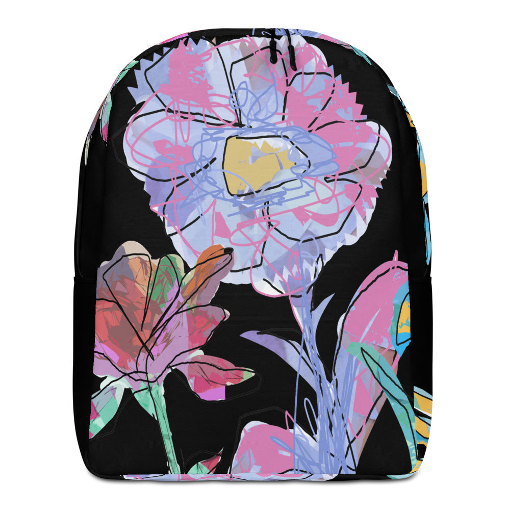 Impressionist Flower Backpack design from MacAi & Co Backpack for travel Men Women Girls
