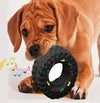 Puppy Training Squeaky Toy Tyre Treads Tough Pet Toys for Small Dogs