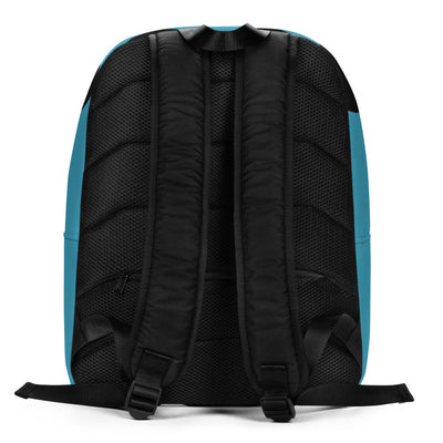 BooBooFace Blue Backpack Unisex from MacAi & Co