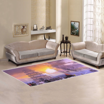 Large Floor Mat for Home CUstom Design Area Rug 7'x3'3''
