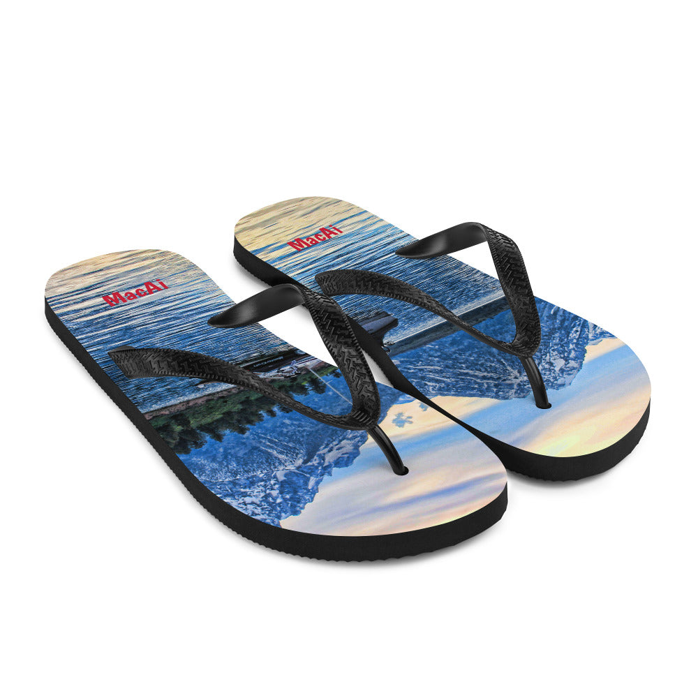 Flip Flops for the Beach, Desert, Camping, Relaxing and Showering after a Workout at the Gym