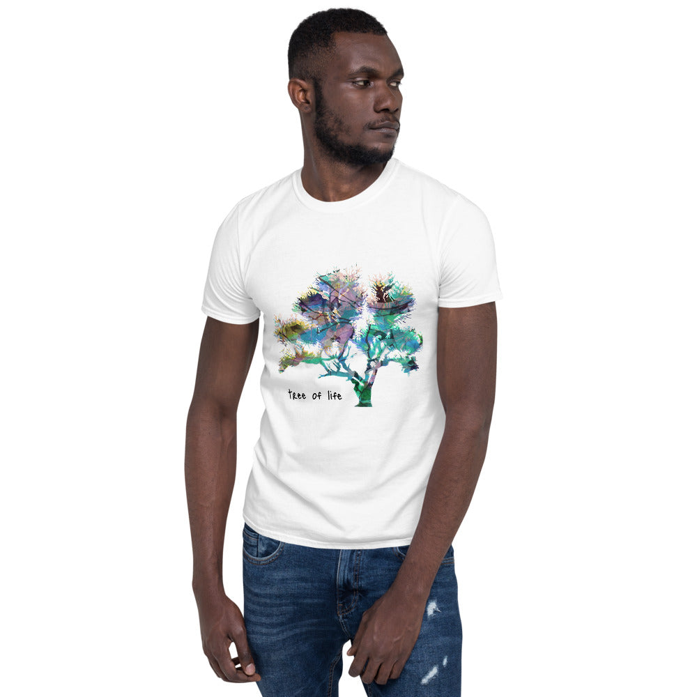 Unisex Summer T-Shirt 'Tree of Life' designed by MacAi & Co Outdoors Travel