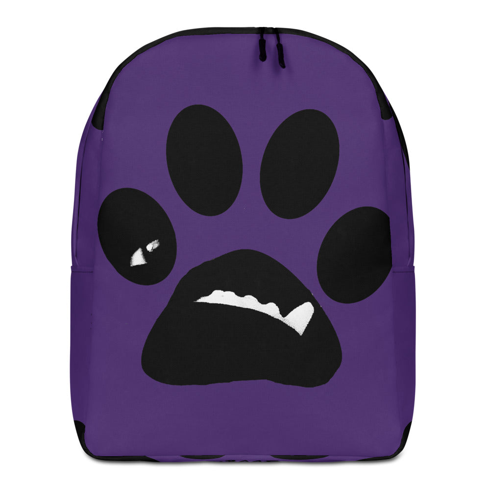 BooBooFace Purple Backpack Unisex from MacAi & Co