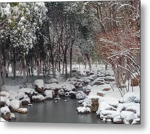 Winter in Xian Artist Image in Metal Print from MacAi & Co