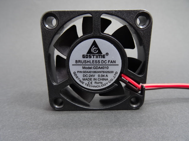 Axial fan GDSTime 40x40x10 24 Volt - ball bearing
