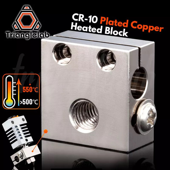CR-10 Plated Copper Heatblock