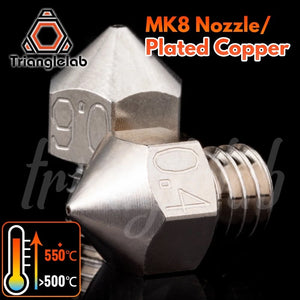 MK8 Plated Copper Düse