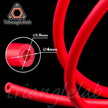 Load the picture into the gallery viewer, PTFE hose ID-1.9mm Red (2M)