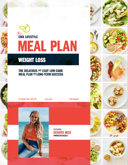 Desiree Mize | Enix Lifestyle Weight Loss Meal Plan | E-Book