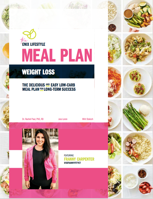 Franny Carpenter | Enix Lifestyle Weight Loss Meal Plan | E-Book