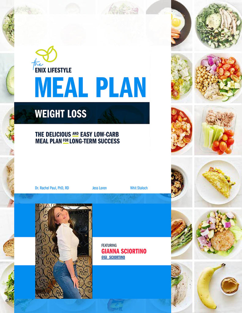 Gianna Sciortino | Enix Lifestyle Weight Loss Meal Plan | E-Book