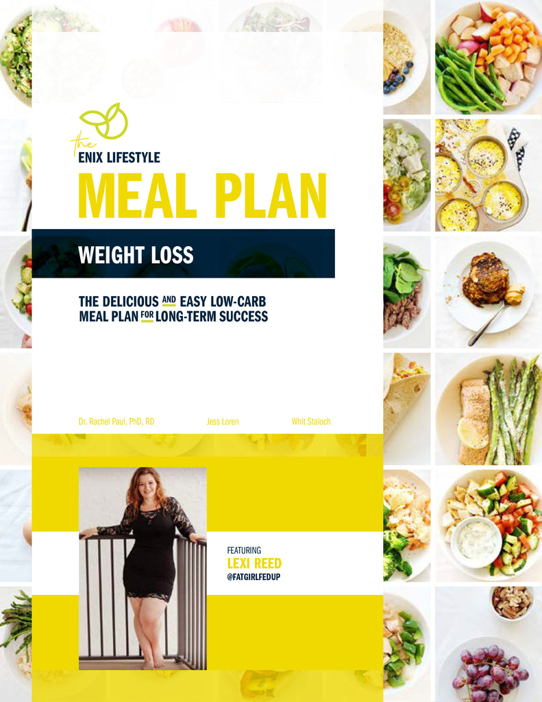 Lexi Reed | Enix Lifestyle Weight Loss Meal Plan | E-Book
