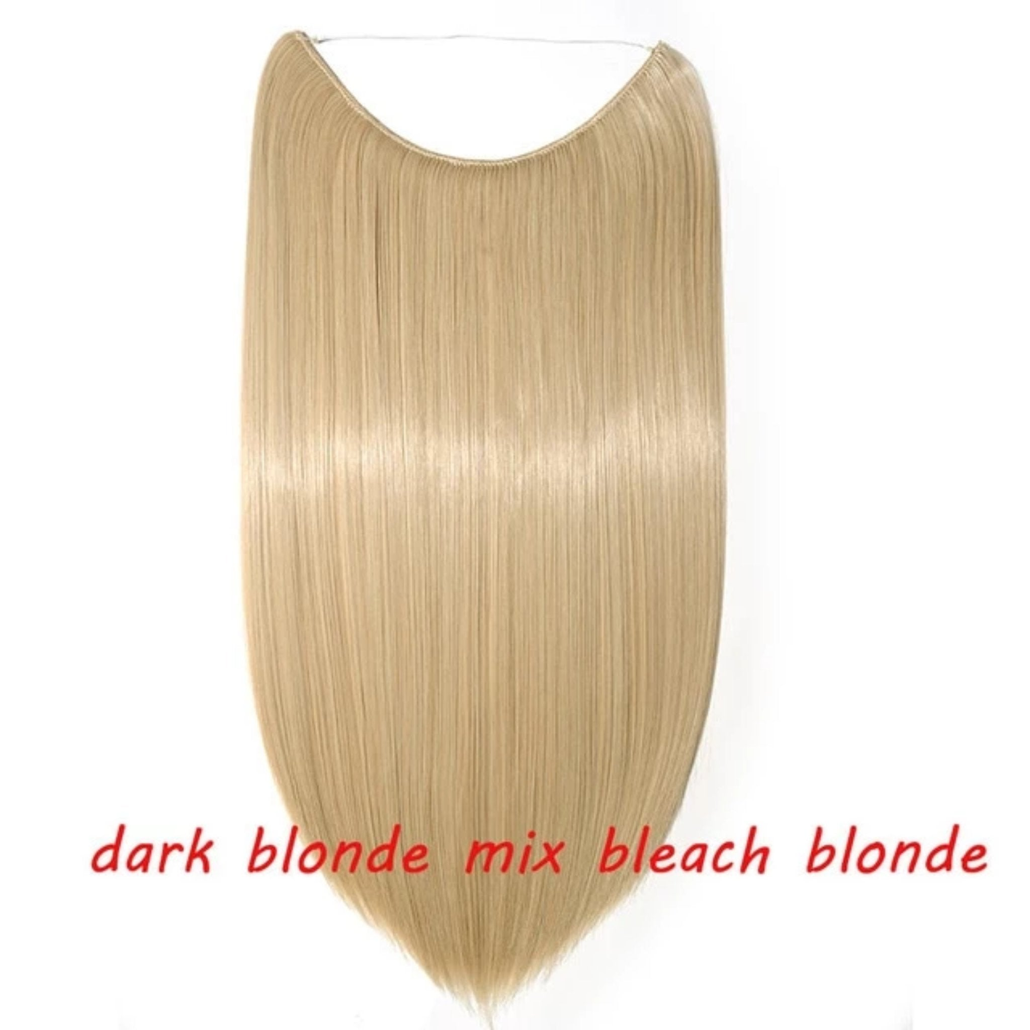 Invisible Wire One Piece Halo Hair Extensions
