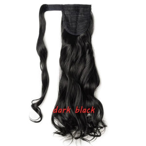 Curly Clip In Hair Ponytail - Fresh Hair Extensions and Accessories