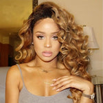 Brazilian Honey Blonde  Full Lace Body Human Hair Wigs - Fresh Hair Extensions and Accessories