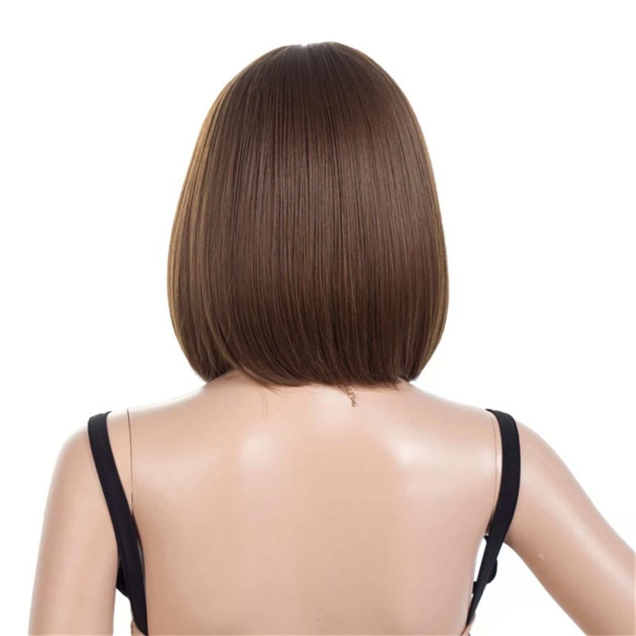 Short  Transparent Straight Wig - Fresh Hair Extensions and Accessories