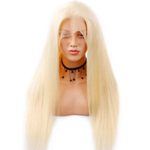 Brazilian Blonde Straight Lace Front Wig